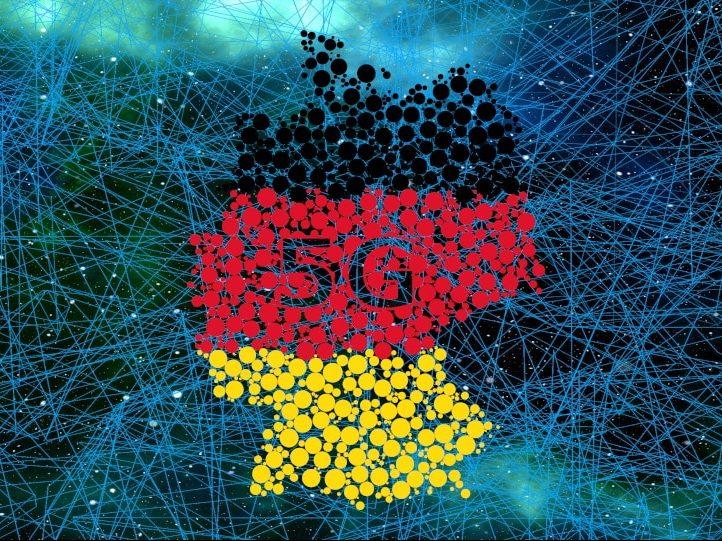 Deutschland wartet auf die Versteigerung der 5G-Frequenzen. (Bilder: Pixabay / GDJ, geralt; Komposition: H. Jacob)