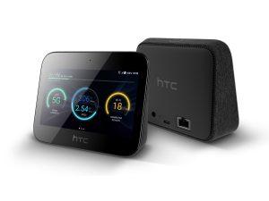 Der 5G-Hub von HTC ist auch mobil einsetzbar. (Bild: HTC)