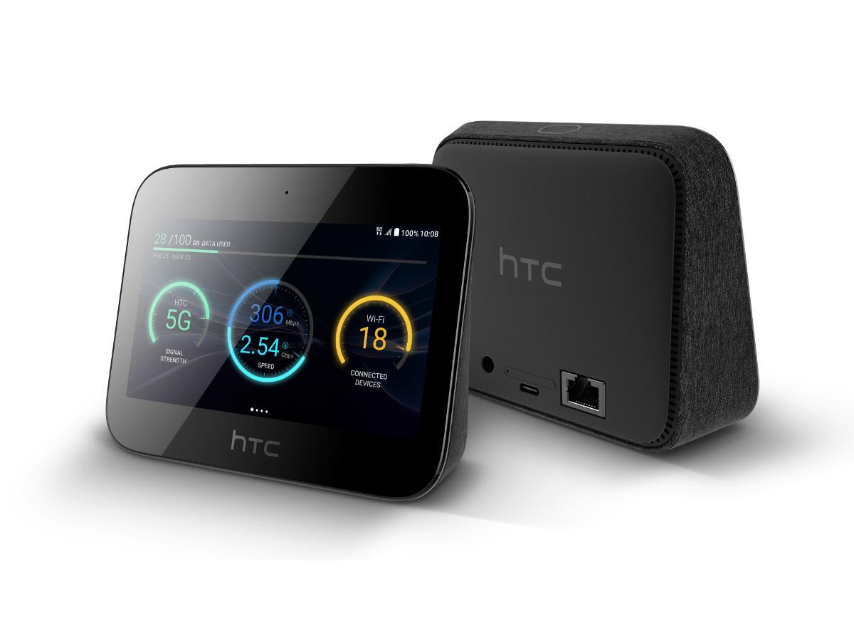 Der 5G-Hub von HTC ermöglicht AR-/VR- und KI-Anwendungen per Mobile-Edge-Computing. (Bild: HTC)