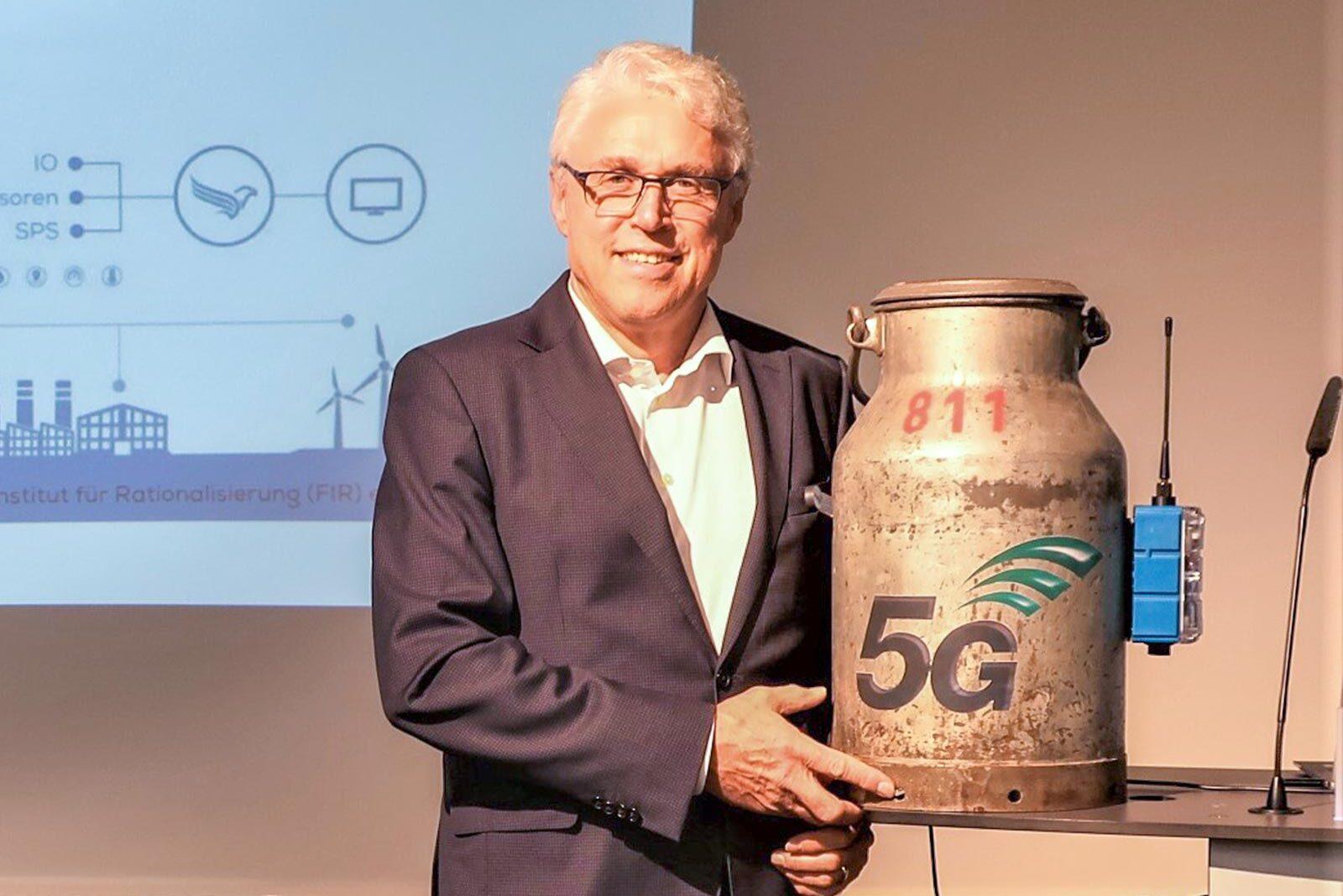 Thomas Schildknecht 5G an jeder Milchkanne