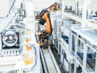 Industrie 4.0 mit Kuka-Roboter